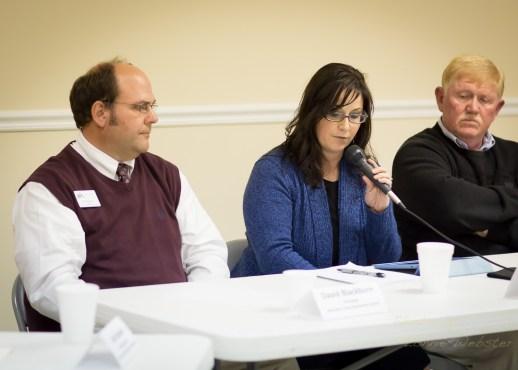 Dan Soucek holds Educational form in Deep Gap NC