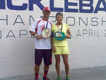 Dominic Catalano & JoAnne Russell US Open Pickleball 2016