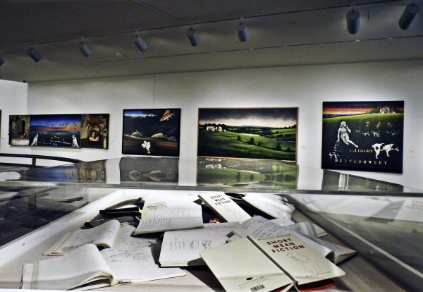 "An installation of ""Short Mean Fiction"" at the Katzen Museum of Art in Washington, D.C. Photo by Carol Harrison."