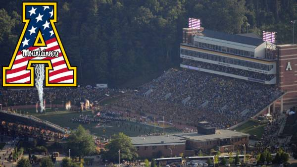 Among the many promotions set for the 2014 home opener at Kidd Brewer Stadium, Saturday will be Heroes Day with recognition of military personnel and first responders throughout the ballgame. Courtesy: App State Athletics / Dave Mayo