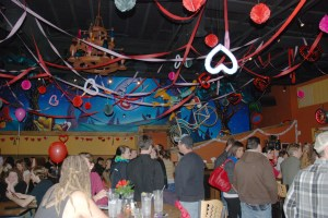 The first annual Cupid is Stupid Party at Mellow Mushroom was a big success. Photo by Ken Ketchie