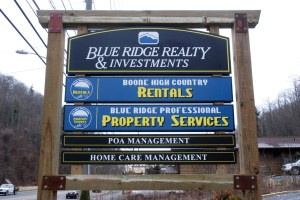 Blue Ridge Realty & Investments is located on N.C. 105 in Boone. Photo by Ken Ketchie