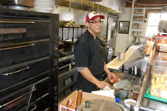 Joe Turner is a veteran chef of 20-plus years. Photos by Ken Ketchie