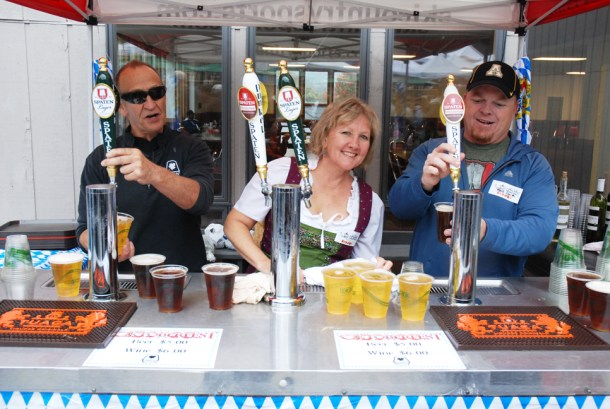 Patrons got the chance to taste some tasty brews