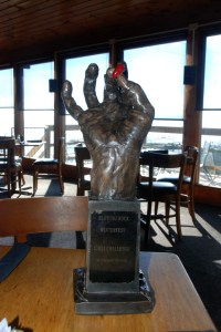 the highly coveted trophy once again rests at the bar in Canyons