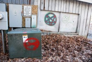 The Horn in the West property that is owned by the town of Boone was vandalized earlier this year.