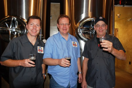 Walker, Rice and Brewmaster Ray Hodge