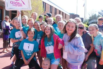 Girls on the Run 2014. Photo by Ken Ketchie.