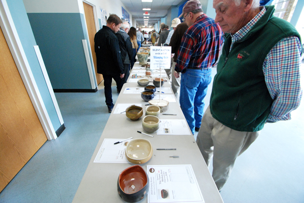 Huge Crowd On Hand For Saturdays Empty Bowls Fundraiser
