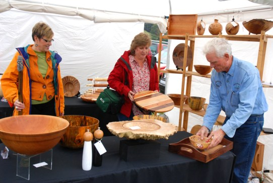Talented artisans displayed their abilities