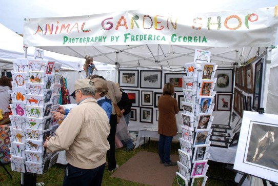 150 juried vendors displayed their wares