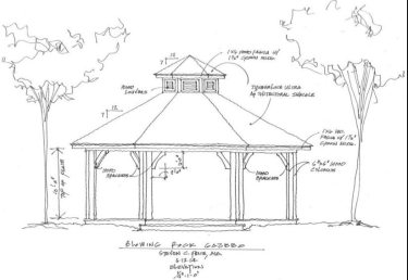 Price's architectural drawing.