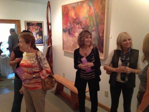 Guests enjoy a Tour de Art in summer 2014.