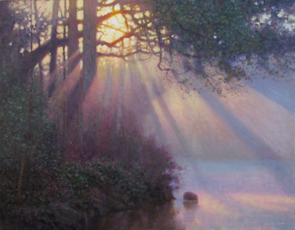 Jeremy Sams_I saw the light_24x30_acrylic