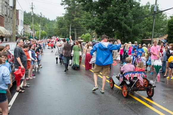 Blowing Rock NC 4th of July Parade 2013