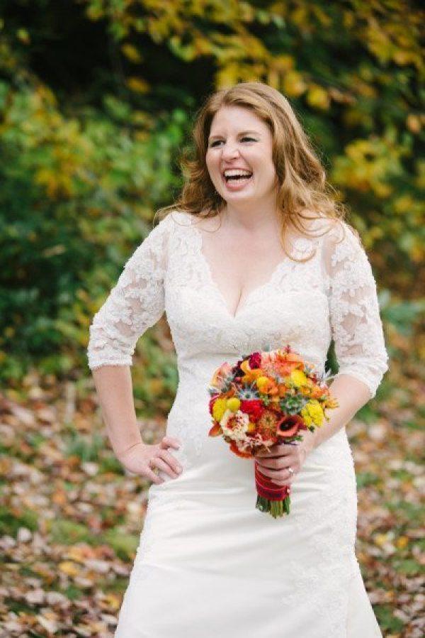 Ellen Gwin on her wedding day.