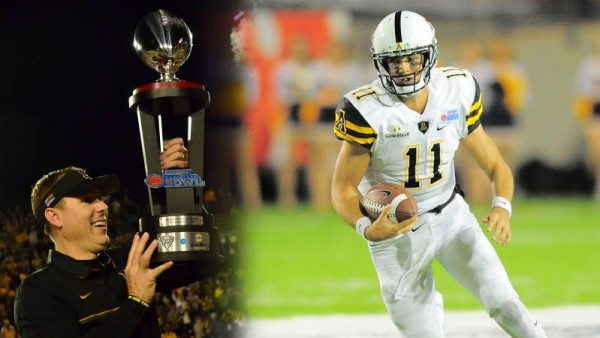 Taylor Lamb totaled 245 yards of offense and two scores en route to helping the Apps capture their second Camellia Bowl Championship in as many years. Courtesy: Appalachian State Athletics