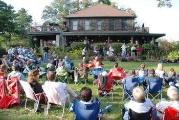 Blowing Rock Music on the Lawn