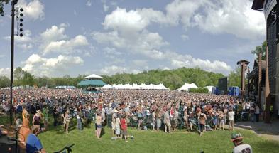 MerleFest Crowd by Jacob Caudill