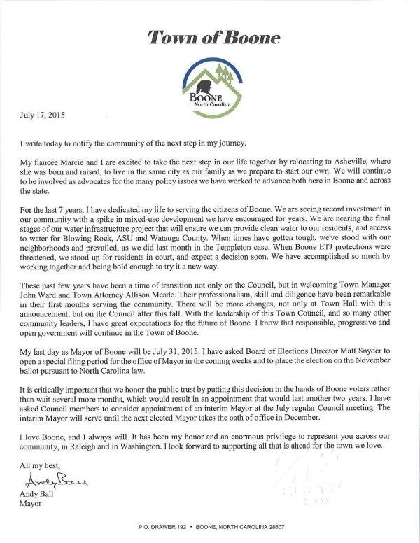 Resignation Letter 07.17.15