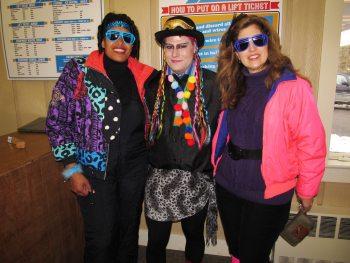 Totally '80s Retro Ski Weekend 2016
