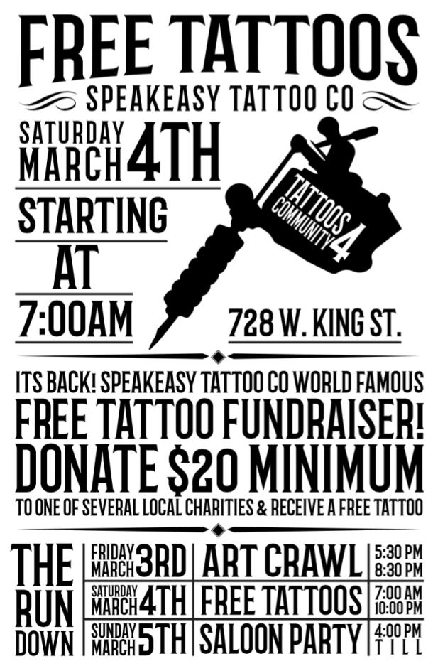 Free Tattoo Flyer