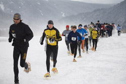 A Past Snowshoe Race