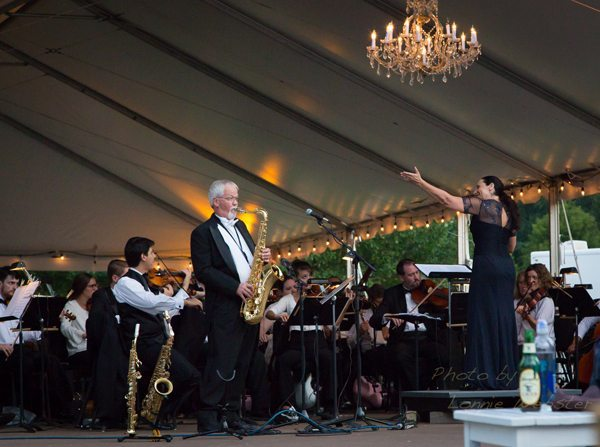 Symphony by the Lake at Chetola with Symphony of the Mountains from Kingsport, TN. Cornelia Laemmli Orth is the Symphony Conductor.