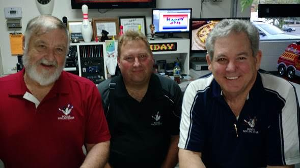 Tommy Greene, Randy Miller and Mario Perret-Gentil