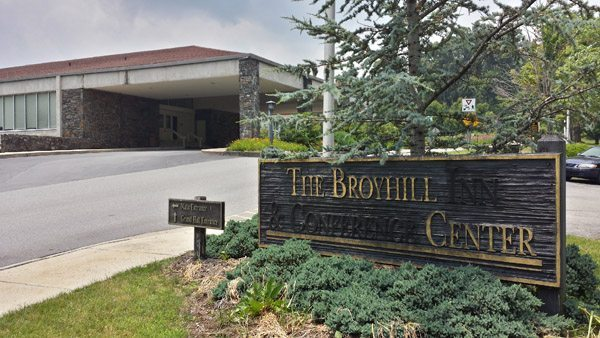 The Entrance of the Broyhill Events Center. Photos by Josiah Clark.
