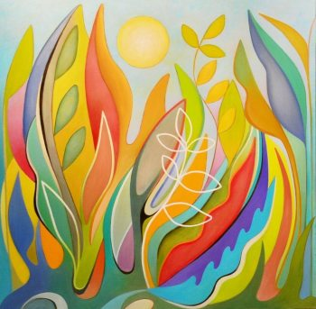 "Tonya Bottomley, ""Full Sun,"" 30x30"