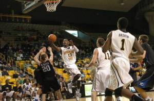 Photo by Dave Mayo and courtesy of Appalachian Sports Information