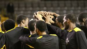 Appalachian State will square off against Chattanooga as it looks to wrap up the No. 4 seed and a first-round bye at next week's SoCon Tournament. Photo by Rob Moore and courtesy of Appalachian Sports Information