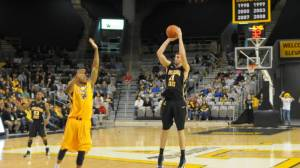 Appalachian State senior Nathan Healy was named as the SoCon Defensive Player of the Year on Tuesday. He also earned a spot on both the coaches and media all-SoCOn teams. Photo by Dave Mayo   ASU Sports