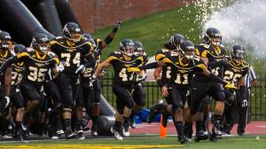 Appalachian State football rounded out an impressive class of 16 signees when 14 student-athletes inked their National Letters of Intent to join the Mountaineers on Wednesday. Photo by Tyler Buckwell and courtesy of Appalachian Sports Information