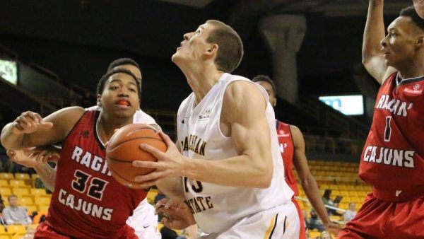 Tommy Spagnolo was named as Appalachian State men's basketball's team captain on Monday. Courtesy: App State Sports / Rob Moore (www.mtnsnapshots.com)