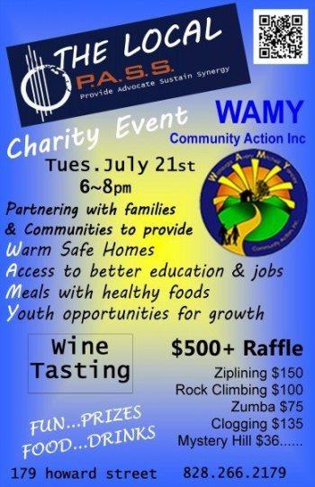 Wamy Pass Event July