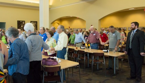 Very Large Turn out for Watauga Democrats Fall Rally