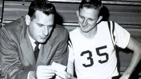 Bob Light (left) is the winningest coach in the history of Appalachian State men's basketball (211 wins) and men's tennis (255 wins).