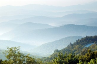 The familiar blue haze of the Blue Ridge Mountains is the result of aerosols, small particles in the atmosphere that result from both human activity and natural sources. Researchers at Appalachian State University are studying how the particles buffer the Southeastern U.S. from climate warming and contribute to the formation of precipitation in the region.