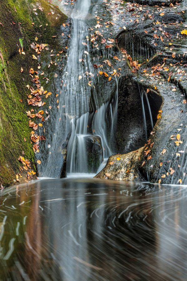 """""""Widow's Creek Falls"""" by Cathy Anderson"""