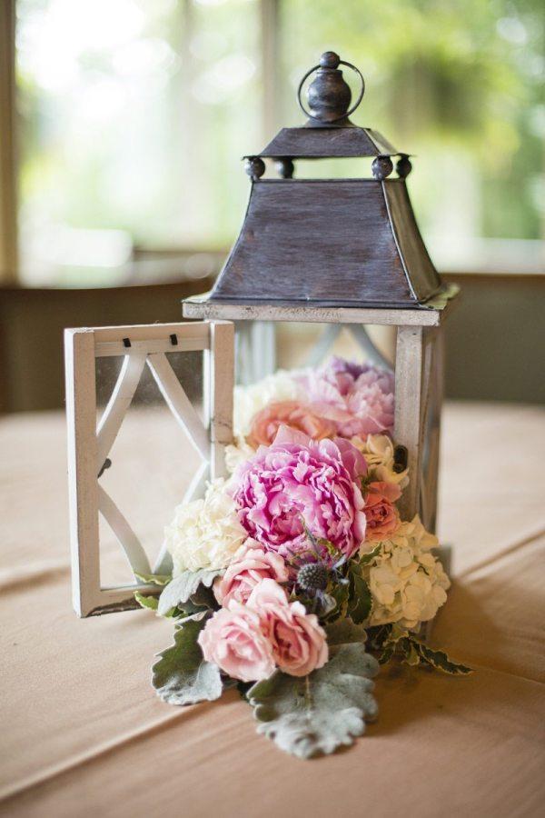 Fuschia Moss Floral Design.