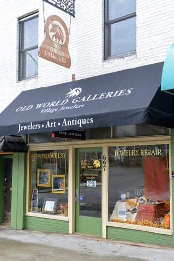 Old World Galleries in downtown Boone.