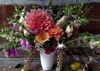 Cut flowers from Goldenrod Gardens