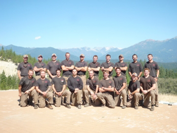 The Granite Mountain Hotshot crew. Photo courtesy of the Prescott Fire Department