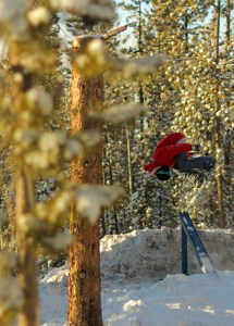 Snowboarder Meg Pugh will be at App Ski Mountain for Ladies Park Night on Saturday, Feb. 9. Photo submitted