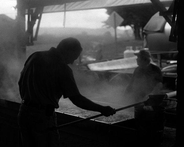 """Making Molasses, Alexander Co., NC"" by Micah J. Henry"