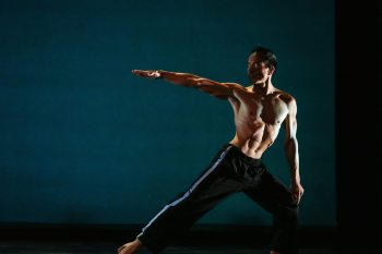 E.E. Balcos of Charlotte returns to the North Carolina Dance Festival Friday, Oct. 28. Photo by Jeff Cravotta