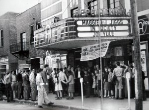 The Appalachian Twin Theater years ago.