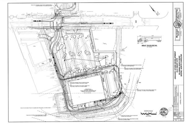Work on New Intersection for Publix, Cracker Barrel and